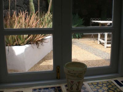 Photo for Villa HANTOUR in Teguise for 3 persons with shared pool, terrace, garden, views of the volcanoes, WIFI and less than 10000m to the sea