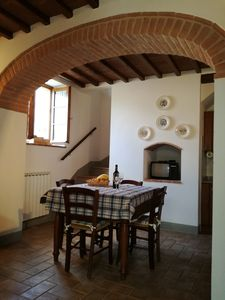 Photo for Il Cantuccio - quiet apartment in the Chianti area
