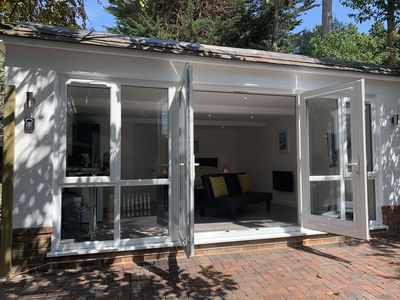 Photo for The Getaway: new secluded & modern studio sleeps 4
