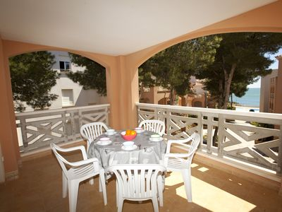 Photo for Apartment with WIFFI, direct access to cala.