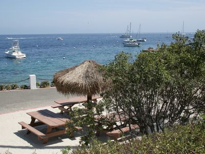 Photo for Amazing Value in Hamilton Cove,CATALINA WITH ZERO STEPS and Golf Cart. NO PETS