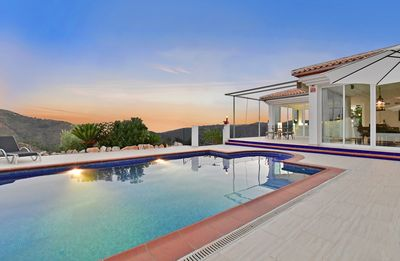 Photo for Luxury Spacious Villa  Stunning Views  Tropical Valley Almunecar Private pool