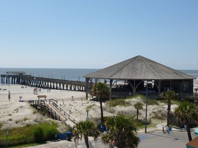 Photo for Ocean Beach Front Resort Condo up to 6 ppl, 2 bds 2 baths 2 paking Tybee Island