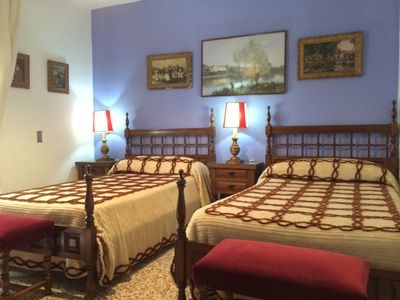 Photo for Rural Accommodation Shared Garden of French, Bedroom Blue