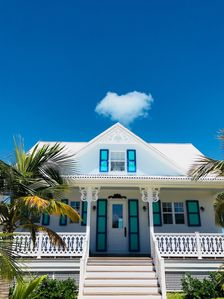"""Photo for """"One Love"""": Extraordinary Beachfront Villa and Cottage on calm, secluded, bay."""