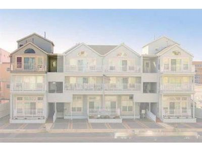 Photo for Newly remodeled, steps from the beach with great views of Wildwood Crest ocean