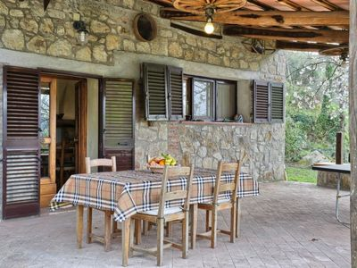Photo for Vacation home Casale Ulisse in Roccastrada - 8 persons, 3 bedrooms