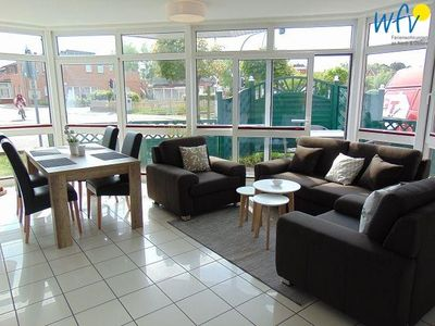 Photo for Beautiful apartment with sunny terrace on Borkum!