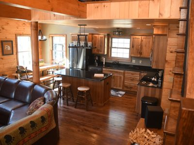Photo for NEW LISTING! - Gorgeous mountain views, new construction, minutes to boat launch
