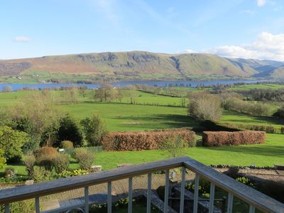 Photo for Luxurious apartment in character building with unrivalled lake and fell views