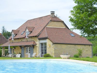 Photo for STONE HOUSE IN THE COUNTRYSIDE WITH SWIMMING POOL