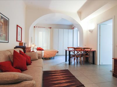 Photo for Charming studio w/balcony (Navigli)