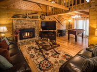 Beautiful cabin with amazing features