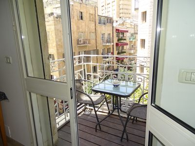 Photo for Lovely 1 BR Apartment on Ben Yehudah in the heart of Jerusalem