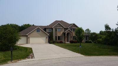 Photo for Large Executive Home close to the attractions! PGA, EAA, and Road America!