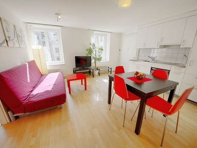 Photo for 1BR Apartment Vacation Rental in Zürich, Zürich