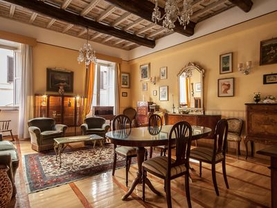 Photo for Large apartment in the heart of Rome!