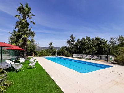 Photo for Beautiful provencal house in the heart of the Esterel with pool, tennis