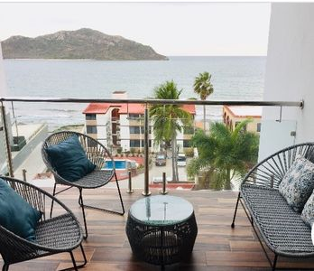 Photo for LUXURY APARTMENT IN FRONT OF THE SEA, THE MOST BEAUTIFUL OCEAN VIEW