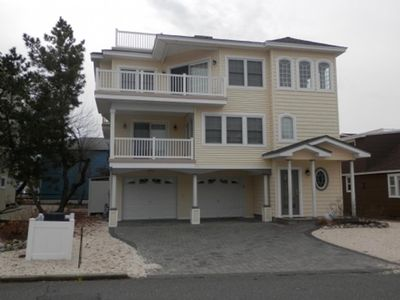 Photo for Ocean Side  Reverse living home only third (3rd) from the beach Brant Beach.  125788