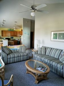 Photo for Beautiful ocean view apartment-King master bedroom-sleeps four.