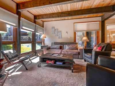 Photo for Ground-floor, corner condo near the shared pool, hot tubs, & trails