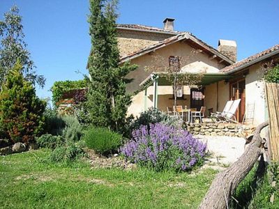 Photo for Luxury gite for 5 in lovely farmhouse with great pool, in stunning surroundings