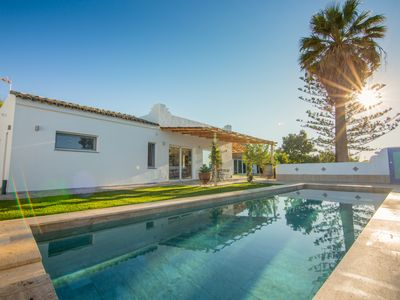 Photo for Casa Mandalay, a stylish 4 bedroom house, 3 bathrooms, private pool, sea views