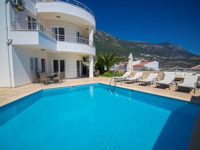 Photo for 3 Bedroom Villa with Private Pool and Sea View, Walkable Distance to the Centre