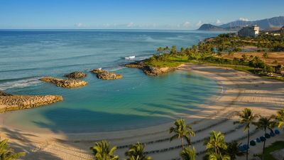Photo for Memorial Day Week at Marriott's Ko Olina Oceanfront Beach Club! 2bed/2bath APT.