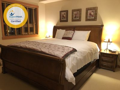 Brand New Comfortable King Size Bed & Mattress