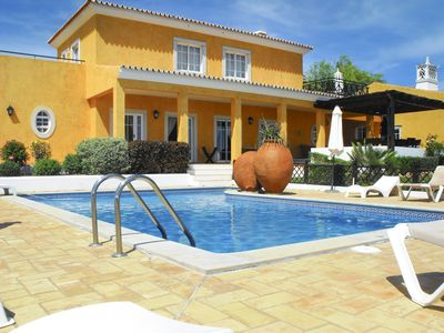 Photo for 8 bedroom Villa, sleeps 17 with Pool, Air Con and FREE WiFi