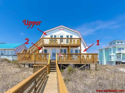 Photo for Beach Barn 2 - OCEANFRONT & PET FRIENDLY!!