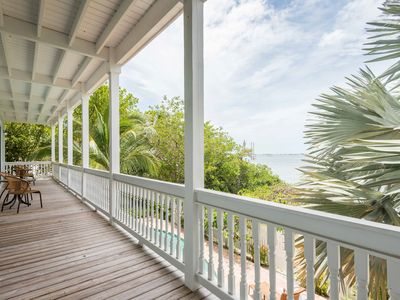 Photo for Roomy waterfront home w/ private pool, lanai, & deck - views from every window!
