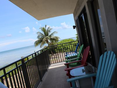Photo for Mar Y Sol Ocean Front A101: 3  BR, 2.5  BA Condominium in Key West, Sleeps 8