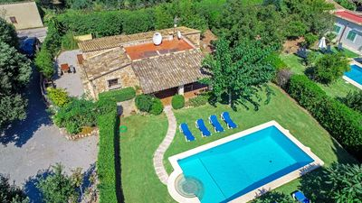 Photo for Navarro - Great house near Pollença with pool