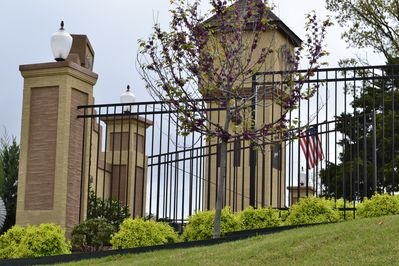 Gate Entrance To Crown Pointe