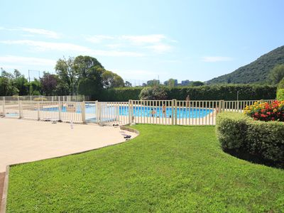 Photo for LES GREENS - Rez-de-jardin avec piscine - Apartment for 3 people in Mandelieu-la-Napoule