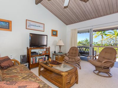 Photo for Private Condo w/ BBQ on Lanai, Close to Golf/Beaches