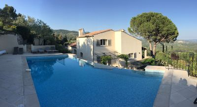 Photo for Charming and Fully Renovated Villa In Landscaped Gardens w/Pool & Great View