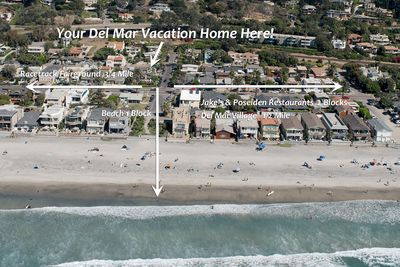 An easy stroll to beach, oceanfront dining, village, racetrack and more!