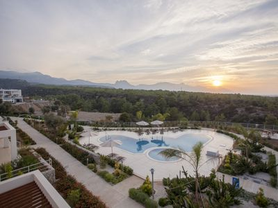 Photo for Mediterranean Sea View Apartment With Infinity Pool!
