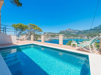 Photo for Villa with panoramic views of the Port of Sóller