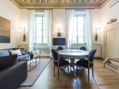 Photo for An elegant and refined location nested between the Duomo and Palazzo Vecchio.