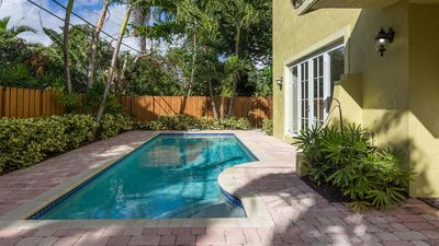 Photo for Modern 4 Bedroom Luxury Vacation Townhome | Private Pool | Minutes To Beach