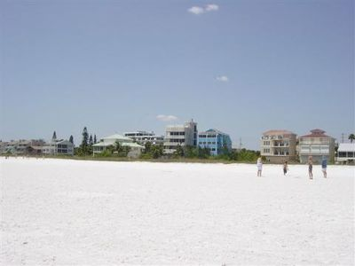Our section of Siesta Key Beach