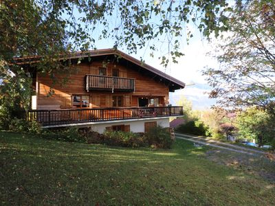 Photo for Dream stay, with calm assured and breathtaking views of Mont Blanc