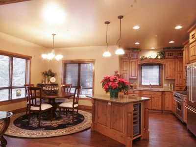 Photo for Pinnacle Ridge5 Luxury Condo, With  Fireplace in the village, steps to the Hill.