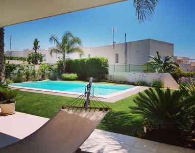 Photo for modern villa with pool near the center / sea