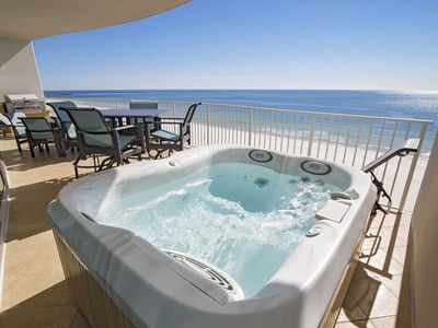 Photo for Turquoise Place 705D ~ Low Floor ~ Hot Tub/Grill on the Balcony ~ Lazy River ~ Sleeps 11!